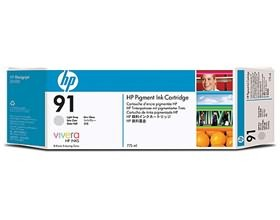 Image 1 of Hp 91 Ink Cartridge 775ml Light Gray C9466a C9466A