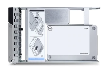 """Image 1 of DELL 480GB 3.5"""" SATA SSD, 6GBPS, HOT PLUG SOLID STATE DRIVE (400-BDPD) 400-BDPD"""