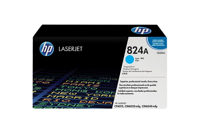 Image 1 of Hp Cb385a Hp Cp 6015/ Cm 6040 Mfp Cyan Image Drum