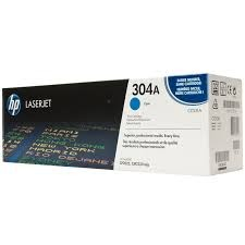 Image 1 of Hp Cc531a Clj Cp2025 Cyan Print Cartridge With Colorsphere Toner CC531A