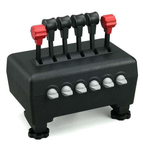 Image 1 of Ch Products Throttle Quadrant Usb CH-300-133