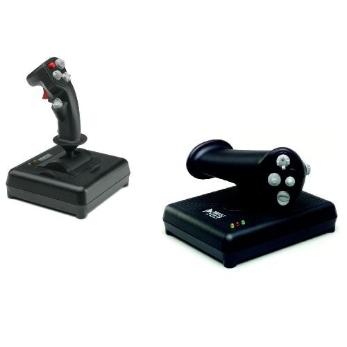 Image 1 of Ch Topgun Pack - Includes Both The F-16 Fighterstick (usb) & Pro Throttle (usb) CH-TOPGUN