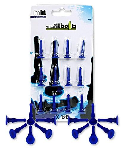 Image 1 of Coolink Case Fan Anti-vibration Bolts 12-pack Cle-slics CLE-SLICS