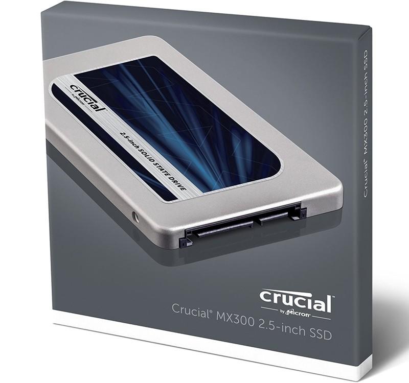 "Image 1 of Crucial MX300 2TB 2.5"" SATA SSD 530/ 510MB/ s 7mm w/ 9.5mm Adapter CT2050MX300SSD1 CT2050MX300SSD1"
