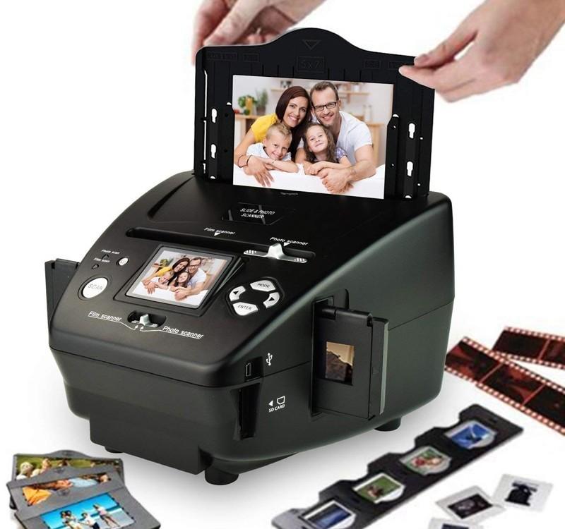 Image 1 of AVLabs 4 in 1 Photo, Slides, Negatives, Name Card Scanner DC-M122 DC-M122