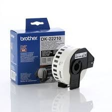 Image 1 of Brother Dk22210 White Continuous Paper Roll 29mm*30.48m