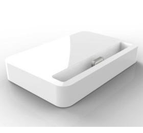 Image 1 of Docking Station Charger For Iphone 5 Desktop Data Sync Cradle Dock