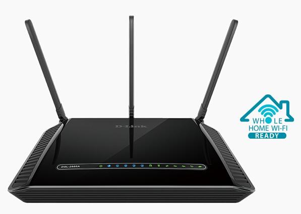 Image 1 of D-Link DSL-2885A WIRELESS AC1200 ADSL2+/VDSL2 MODEM ROUTER (NBN READY) DSL-2885A DSL-2885A