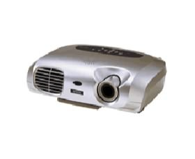 Image 1 of Epson Emp-s1h Projector & 2 Lamp, 1400 Ansi Lumens Svga Resolution, Remote Control