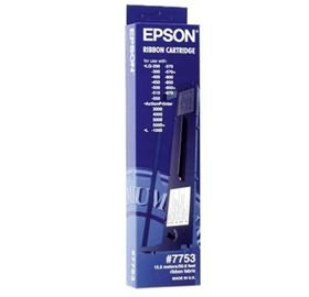 Image 1 of Epson S015021 7753, 3m Black Ribbon, Lq200/ 300/ 300+ii/ 400/ 450/ 500/ 570+/ 800 C13S015021