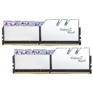 Image 1 of G.Skill Tz Royal 16G Kit (2X 8G) Ddr4 3200Mhz Pc4-25600 16-18-18-18 1.35V Dimm Silver Colour F4-3200C16D-16Gtrs F4-3200C16D-16GTRS