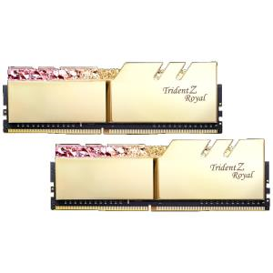 Image 1 of G.Skill Tz Royal 16G Kit (2X 8G) Ddr4 3000Mhz Pc4-24000 16-18-18-18 1.35V Dimm Gold Colour F4-3000C16D-16Gtrg F4-3000C16D-16GTRG