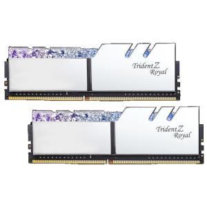 Image 1 of G.Skill Tz Royal 16G Kit (2X 8G) Ddr4 3000Mhz Pc4-24000 16-18-18-18 1.35V Dimm Silver Colour F4-3000C16D-16Gtrs F4-3000C16D-16GTRS