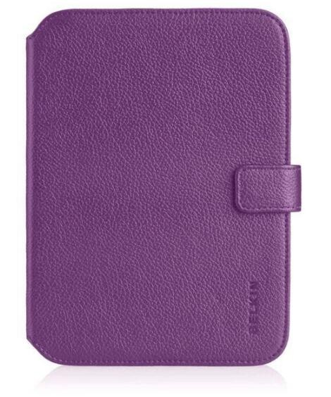 BELKIN BELKIN VERVE TAB FOLIO; PURPLE. FOR KINDLE; KINDLE TOUCH AND KINDLE PAPERWHITE