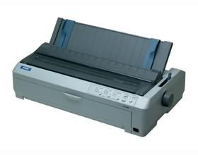 Image 1 of Epson Fx-2190 Dot Matrix Printer Dual 9 Pin Print Head, Print Speed 680cps Up To 7-part Form C11C526051