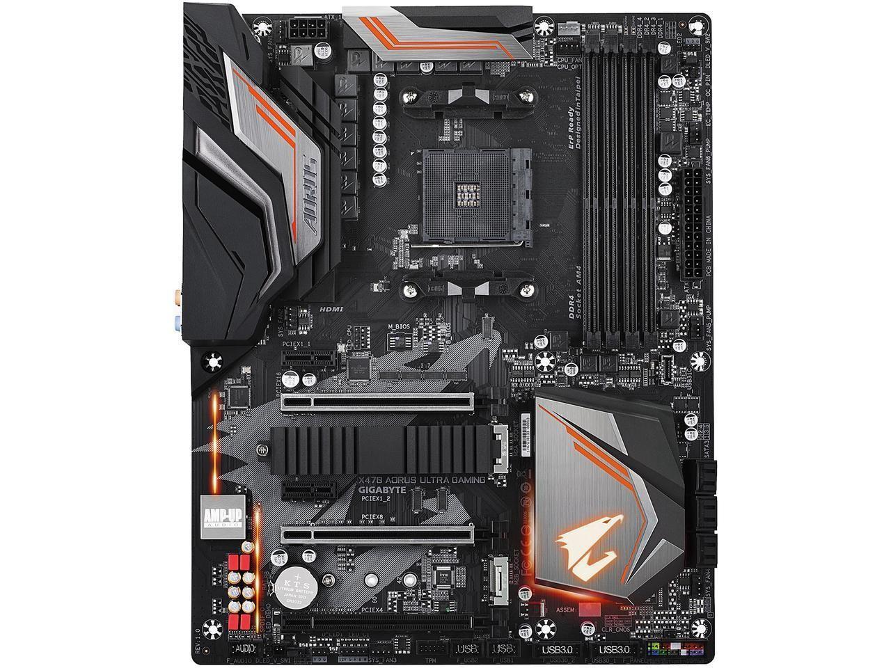 Image 1 of Gigabyte X470 Aorus Ultra Gaming Mb Am4 4xddr4 6xsata 1xm.2 Usb3.1 Atx 3yr Wty Ga-x470-aorus-ultra-gamin GA-X470-AORUS-ULTRA-GAMING