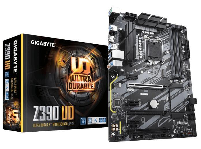 Image 1 of Gigabyte Giga Z390 Ud Mb 4 X Ddr4 Dimm 1 X Hdmi 6 X Usb 1 X Rj-45x 3x Aj Atx Ga-z390-ud GA-Z390-UD