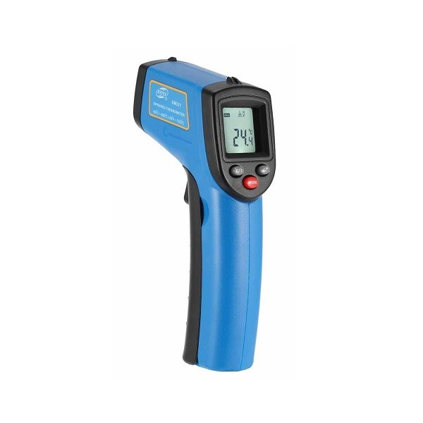Image 1 of Gm321 Infrared Thermometer With Laser Aimpoint Gm-321 GM-321