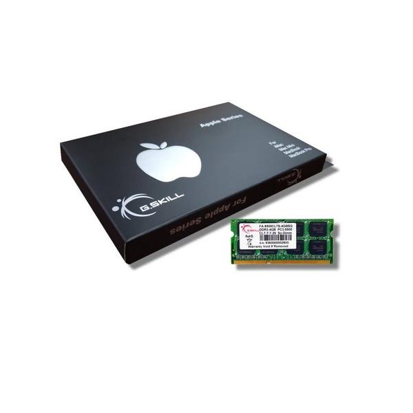 Image 1 of G.skill Ddr3-1066 Mac Sodimm 2gb [sq] Fa-8500cl7s-4gbsq Gs-fa-8500cl7s-4gbsq GS-FA-8500CL7S-4GBSQ
