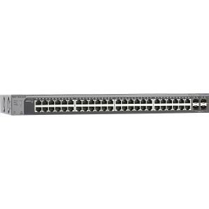 Image 1 of Netgear Prosafe S3300-52x-poe+ (48-port Poe+ Gigabit Stackable Smart Switch 4x10g Ports) Gs752txp-100ajs GS752TXP-100AJS