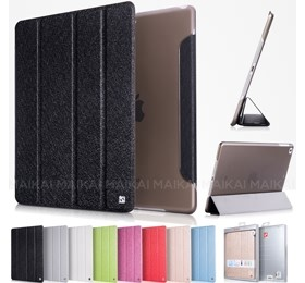 Image 1 of Hoco Ice Ultra Slim Premium Smart Case For Ipad 2 /3 /4 Cool Black, Free Screen Protector