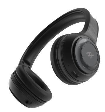 MOPHIE IFROGZ-WIRED EARBUD-AURORA-W/ MIC - BLK