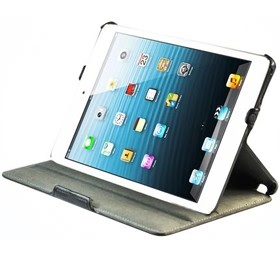 Image 1 of Apple Ipad Mini Leather Slim Folio Convertible Case With Sleep/ Wake Function