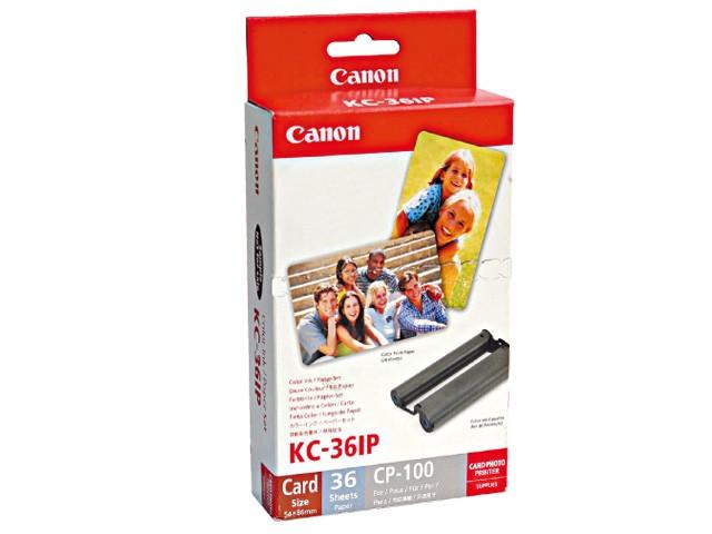 Image 1 of Canon Kc36ip Ink/ Paper Pack, Cr Kc36ip KC36IP