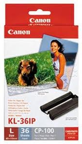 Image 1 of Canon Kl36ip Ink/ Paper Pack, L Kl36ip KL36IP