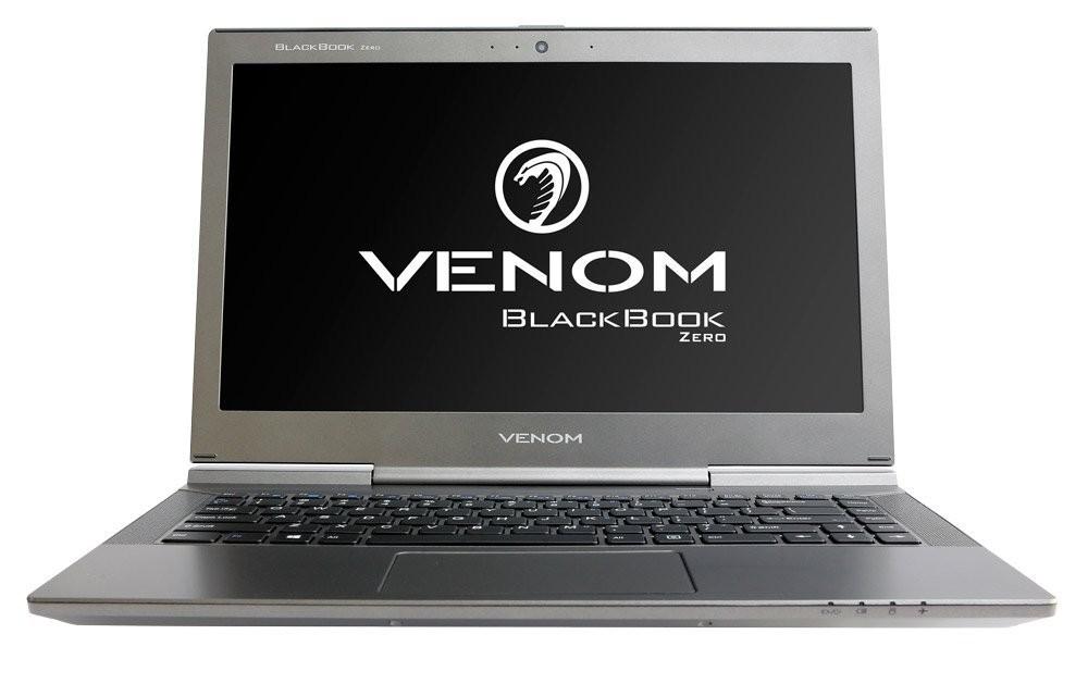 """VENOM L13322 Blackbook Zero 14, i7-7Y75 1.3/3.6Ghz, 16GB, 240GB SSD, 14.1"""" FHD, Win 10 Pro 64, 3 Yr"""