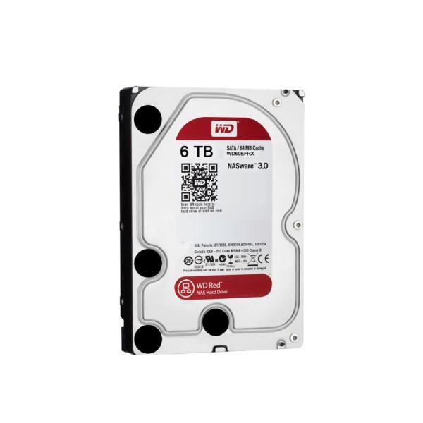 "Image 1 of Western Digital Hdd 3.5"" Internal Sata 6Tb Red Variable Rpm 3 Year Warranty Wd60Efax WD60EFAX"