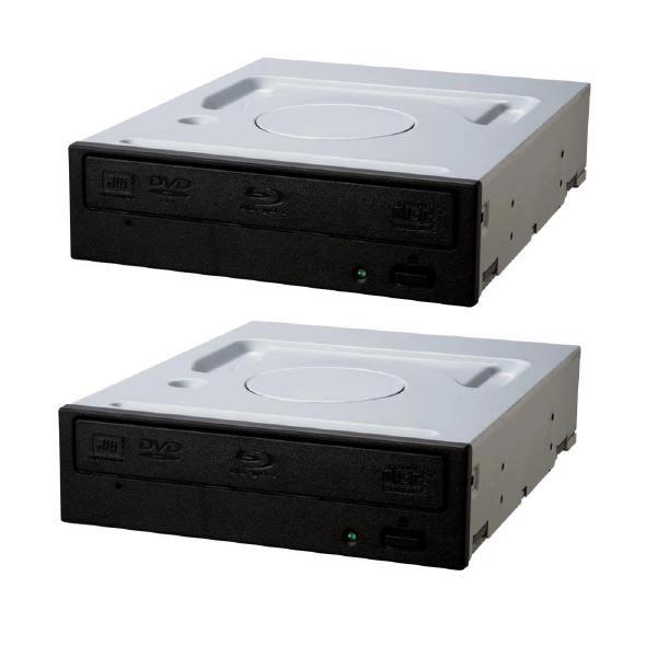 Image 1 of Pioneer Optical Disc Drive (Odd) Internal Blu-Ray Writer Sata Bdr-209Db Oem *2 X Drives Only* Bundle Bdr209Dbk-Bun