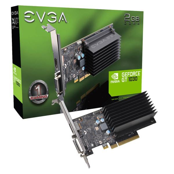Image 1 of Evga Geforce Gtx 1030 Fan Cooling Low Profile 02g-p4-6232-kr 02G-P4-6232-KR