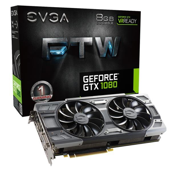 Image 1 of EVGA GeForce GTX 1080 FTW GAMING ACX 3.0 08G-P4-6286-KR 08G-P4-6286-KR