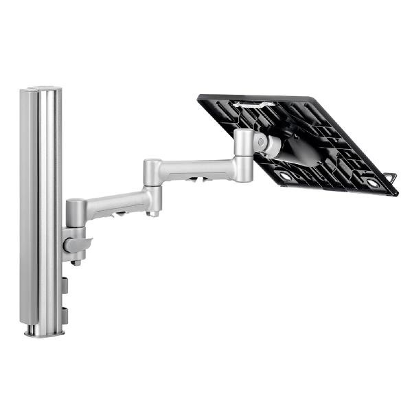 Image 1 of Atdec Systema SN4640S Notebook Mounting Kit - 1x 460mm Mount Arm, 1x Notebook Tray Attachment with SN4640S