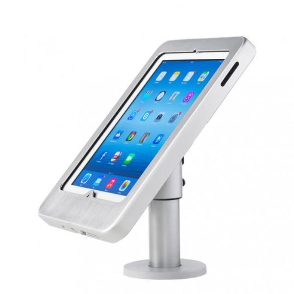 Image 1 of Atdec SpacePole SPIPF245-ALU-03 SafeGuard iPad Frame with Desk mount for Apple iPad2, iPad3 (The SPIPF245-ALU-03