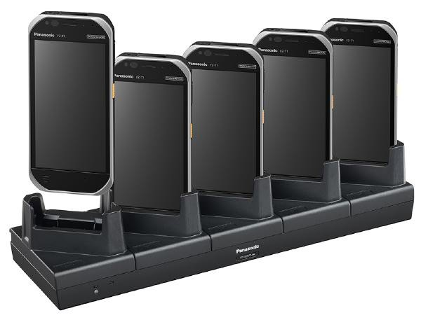 Image 1 of Panasonic Fz-T1 5-Bay Device Cradle (Charge Only) Fz-Vch5T1Aaa FZ-VCH5T1AAA