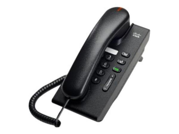 Image 1 of Cisco Unified Ip Phone 6901 Charcoal Slimline Cp-6901-Cl-K9= CP-6901-CL-K9=