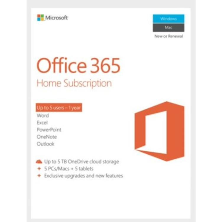 Microsoft OFFICE 365 HOME WITH FIRSTCLOUD EMAIL SE