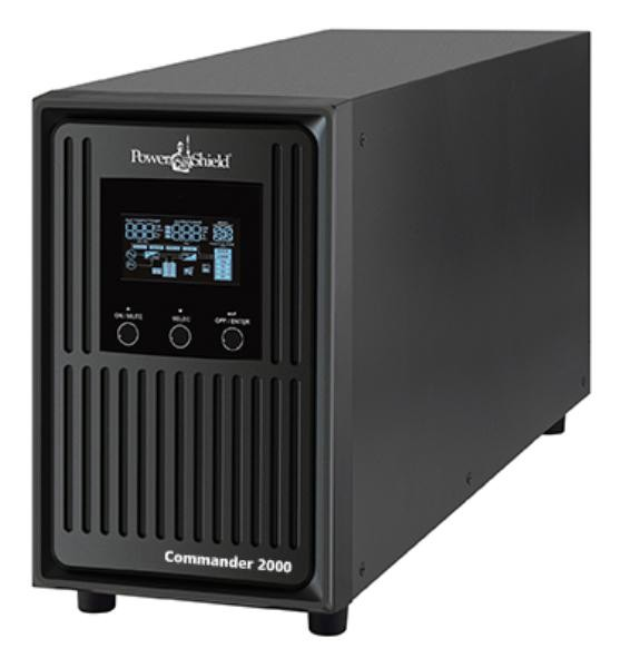 Image 1 of Powershield Commander 1100va/ 990w Line Interactive Pure Sine Wave Tower Ups With Avr. Telephone/ PSCM1100