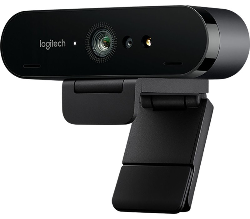 Image 1 of Logitech Brio 4K Ultra HD Pro Webcam 960-001105, 4K Webcam with HDR and Windows Hello support 960-001105