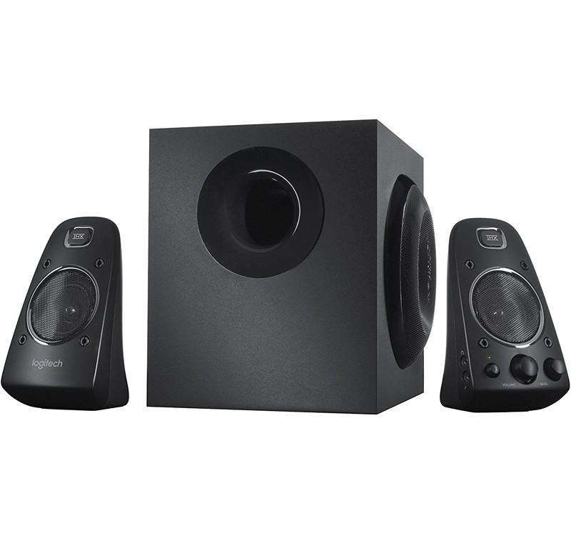 Image 1 of Logitech Z623 Speaker System 2.1 Stereo Speakers, THX Certified, 200W Rms, Flexible Connectivity & Integrated Controls 980-000405 980-000405