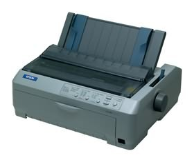 Image 1 of Epson Lq-590 Dot Matrix Speed Of Up To 529 Chars Per Second, 24 Pin, High Copy C11C558071