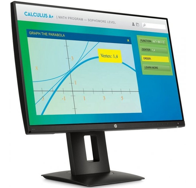 "Image 1 of HP Z22n 21.5"" IPS W/ LED Backlight, 16:9, 1920X1080, VGA, HDMI, DP, 3x USB, Tilt, Swivel, Height M2J71A4"