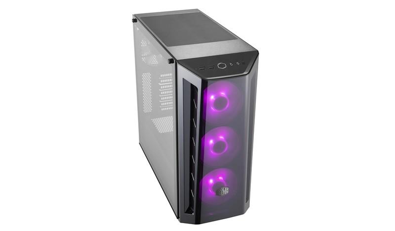 Image 1 of Coolermaster Masterbox Mb520 Rgb Tempered Glass Window Atx Case Mcb-B520-Kgnn-Rgb MCB-B520-KGNN-RGB
