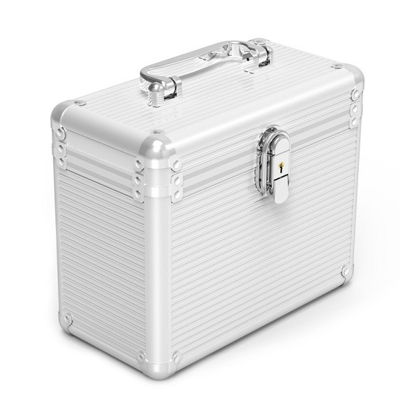 """Image 1 of Orico Silver Aluminium Bsc35-05 2.5 & 3.5"""" Hard Drive Protection Box Orc-bsc35-05-sv ORC-BSC35-05-SV"""