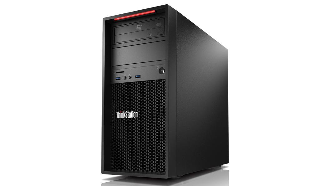 Image 1 of Lenovo P320 Twr I7-7700 512gb Ssd 16gb Ram Dvdrw P1000-4gb Kb/m W10p64 3yos 30bgs5ha00 30BGS5HA00