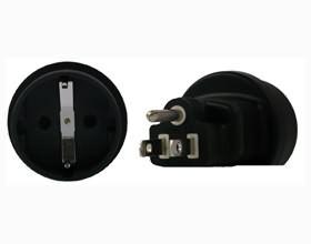 Image 1 of Schuko To Us 3 Pin Plug Adapter PA-1223