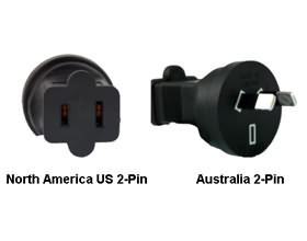 Image 1 of North America Us To Australia Power Adapter Plug PA-3621