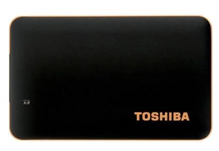 Toshiba X10 120GB SSD PORTABLE HDD, SUPER SPEED USB3.1, MATTE BLACK, 3YR